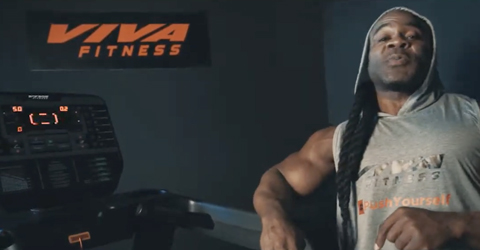 T-2020 Commercial Treadmill with Kai Greene