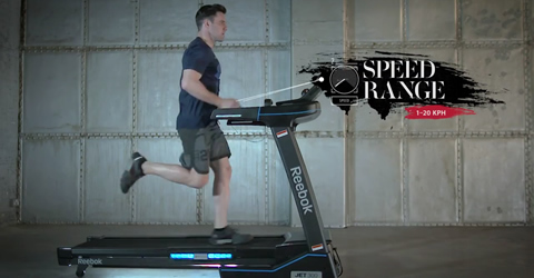 Reebok Jet Series Treadmill Video
