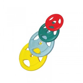 Coloured Rubber Coated Olympic Plates