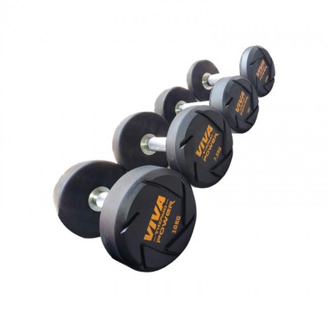 Viva Fitness Tpr Solid Dumbbells Viva Fitness